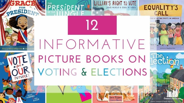 12 Information Picture Books on Voting and Elections Featured Image