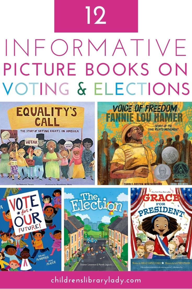 12 Information Picture Books on Voting and Elections