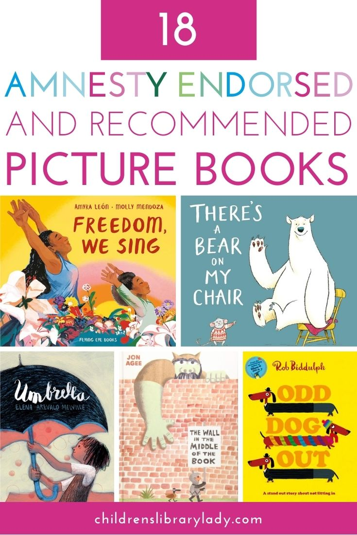 18 Endorsed and Recommended Amnesty Books for Children