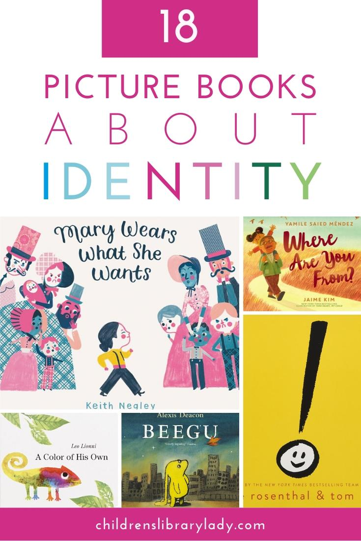 18 of the Best Picture Books about Identity