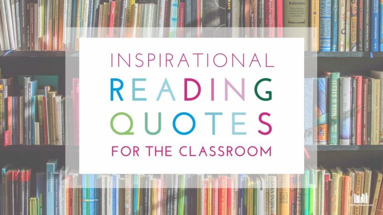 20 Inspirational Reading Quotes to Use in the Classroom Featured Image