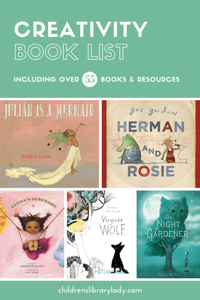 Creativty Book List & Resources