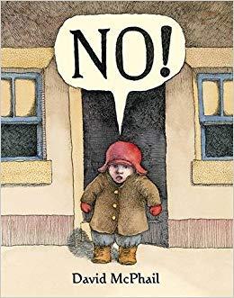 No! by David McPhail