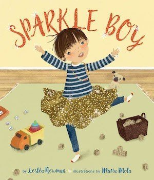 Sparkle Boy by Lesléa Newman