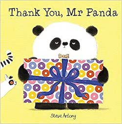 Thank You, Mr Panda by Steve Antony