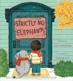 Strictly No Elephants by Lisa Mantchev Cover