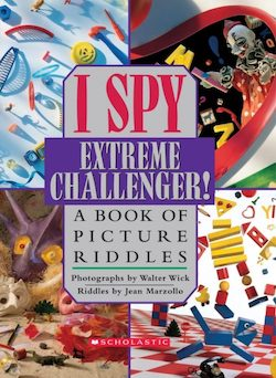 I Spy Extreme Challenger- A Book of Picture Riddles by Jean Marzollo