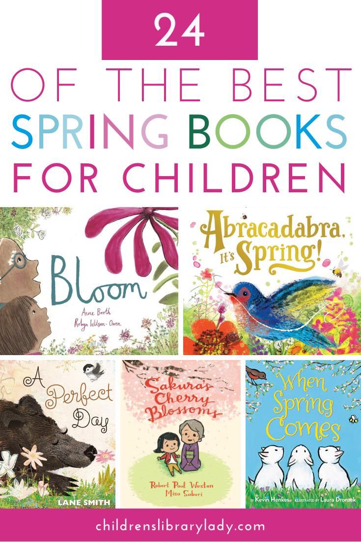 24 of the Best Spring Books for Children