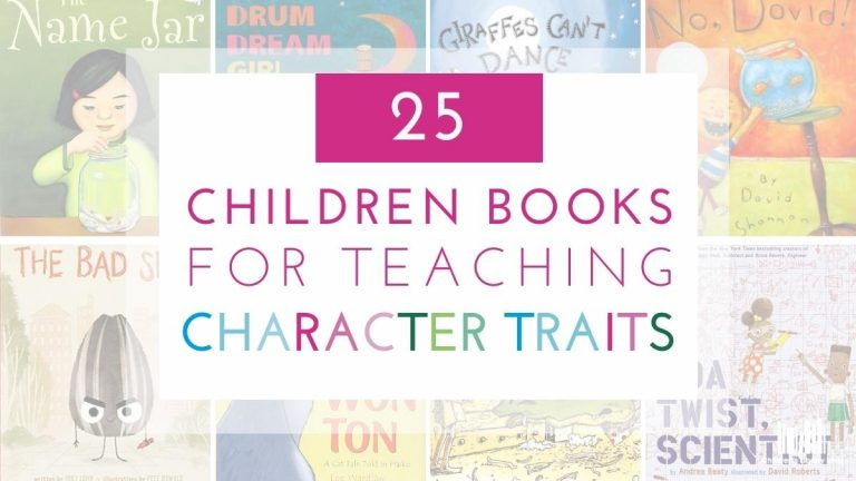 25 Children's Books for Teaching Character Traits Featured Image