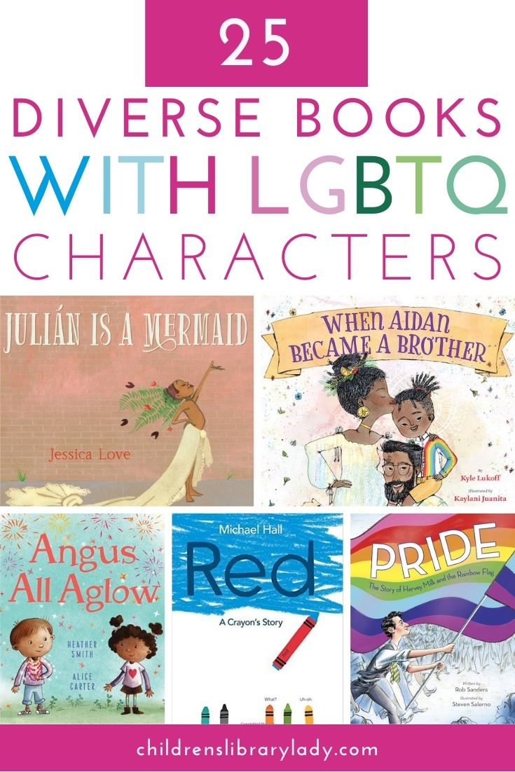 25 Diverse Children's Books with LGBTQ Characters