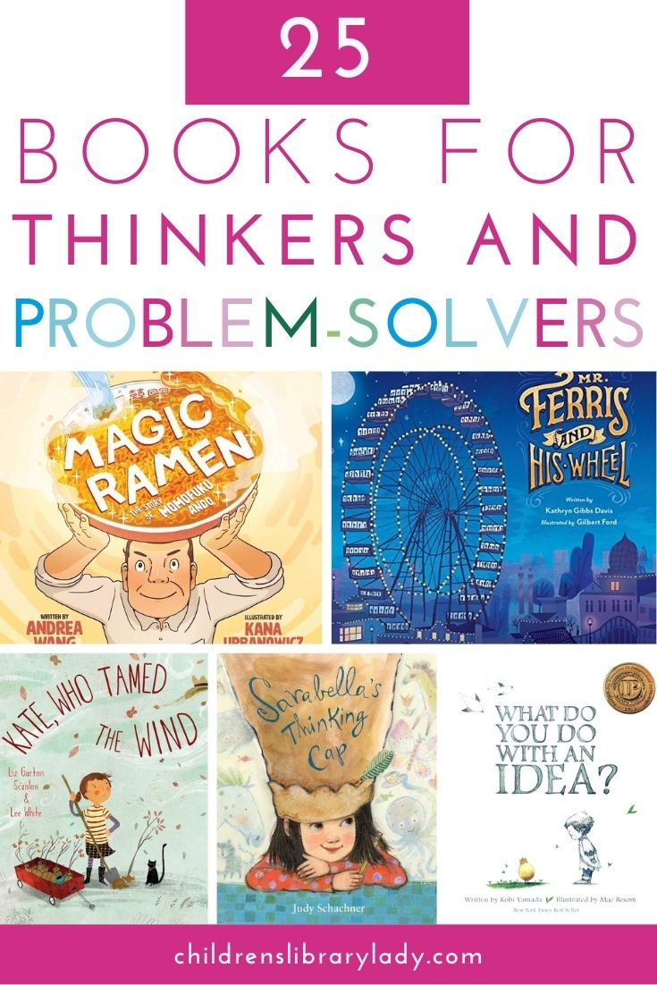 25 of the Best Books for Thinkers and Problem Solvers
