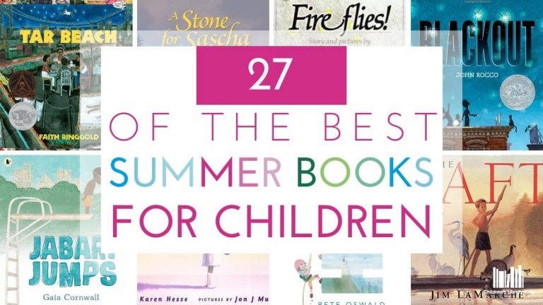 27 of the Best Summer Books for Kids Featured Image