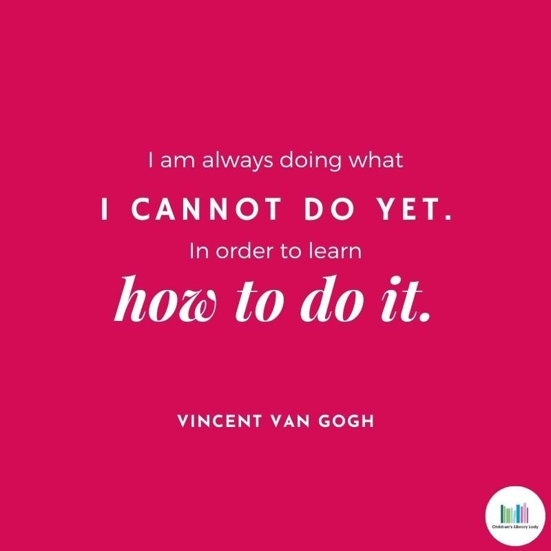 Growth Mindset Quote by Vincent Van Gogh