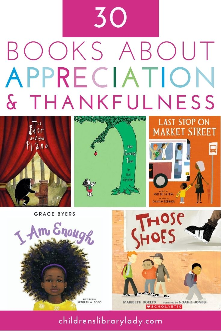 30 Picture Books about Appreciation and Thankfulness