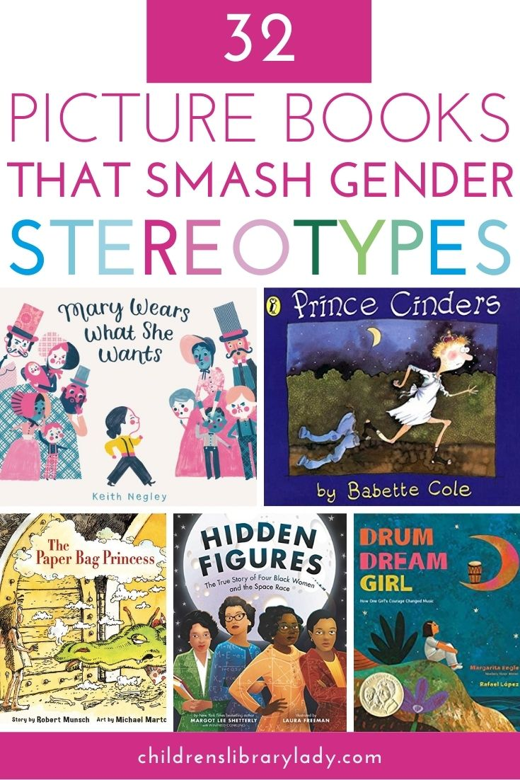 32 Picture Books that Smash Gender Stereotypes