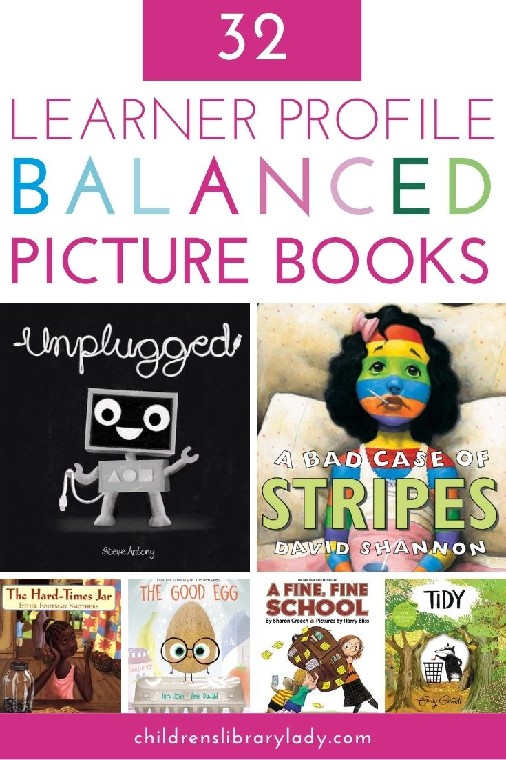 32 of the Best Learner Profile Balanced Books