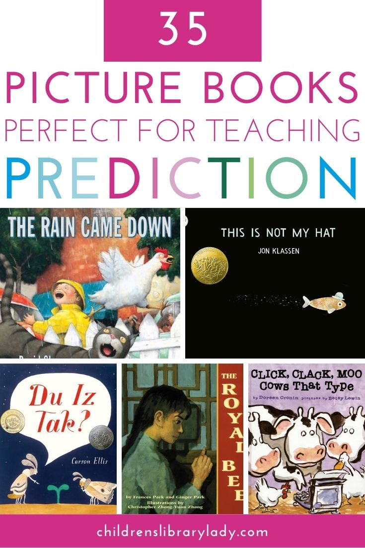 35 Picture Books to Teach Prediction
