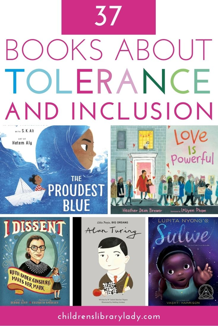 37 Picture Books about Tolerance and Inclusion