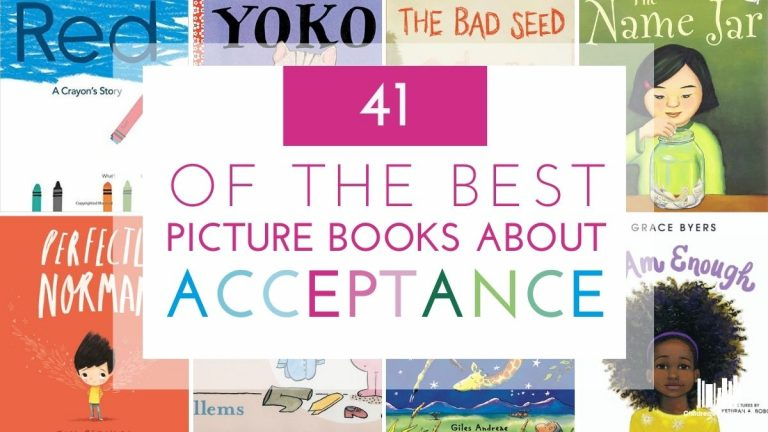 41 of the Best Picture Books about Acceptance Featured Image