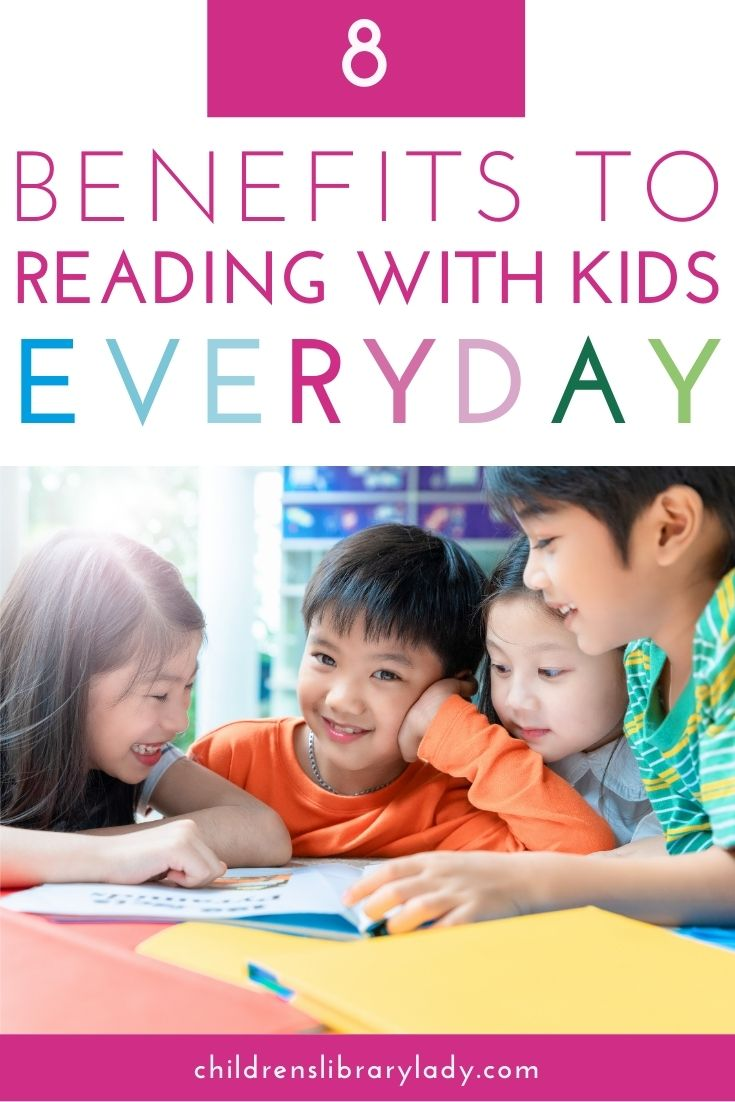 8 Benefits to Reading With Children Everyday