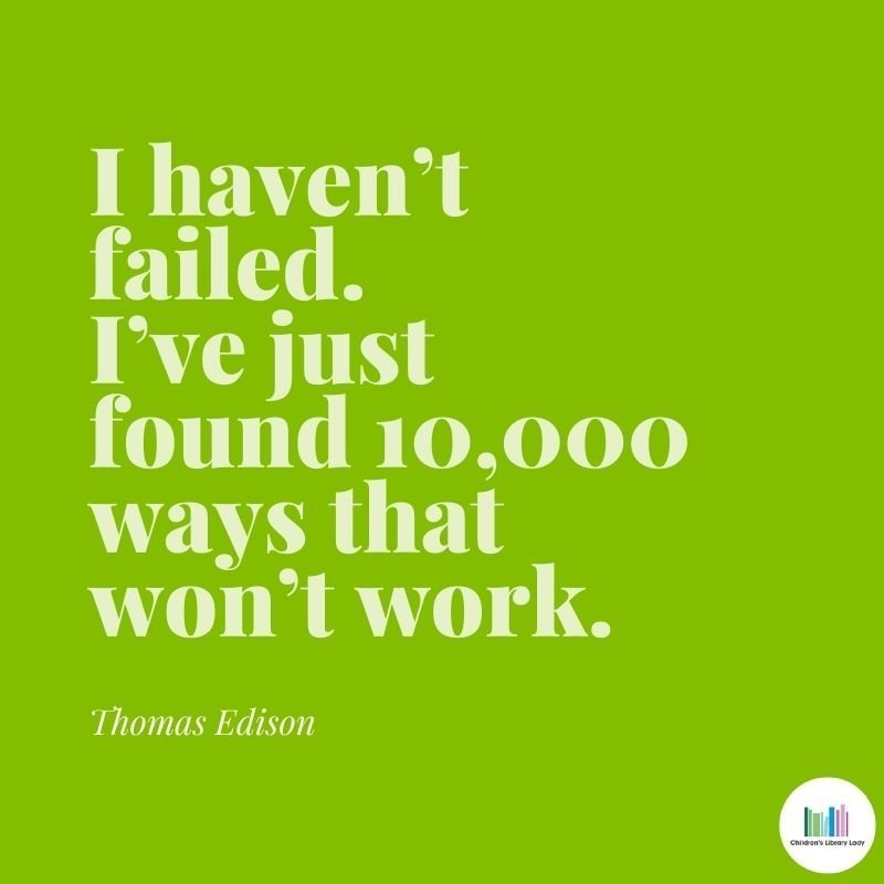 Growth Mindset Quote by Thomas Edison