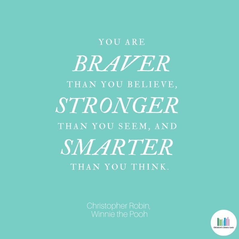Growth Mindset Quote by Christopher Robin, Winnie the Pooh