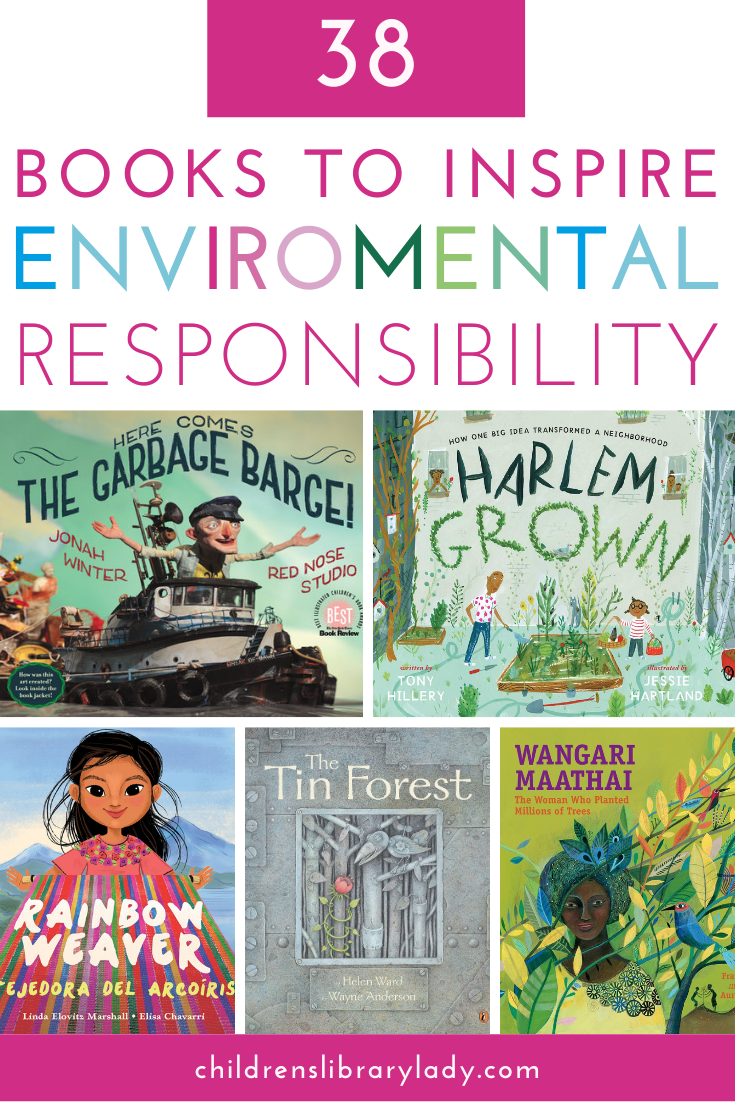 Amazing Books That Inspire Environmental Responsibility