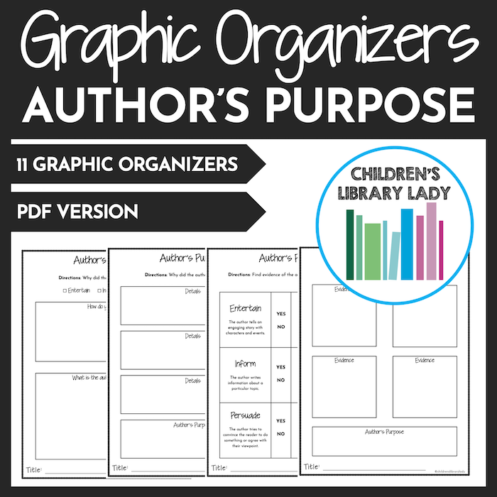 Any Book Author's Purpose PDF Covers 1