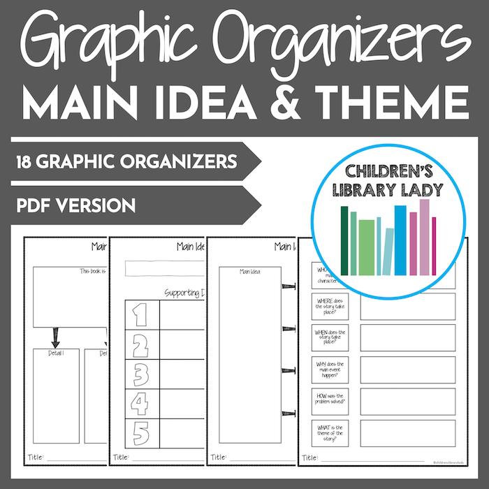 Any Book Main Idea & Theme PDF Covers 1
