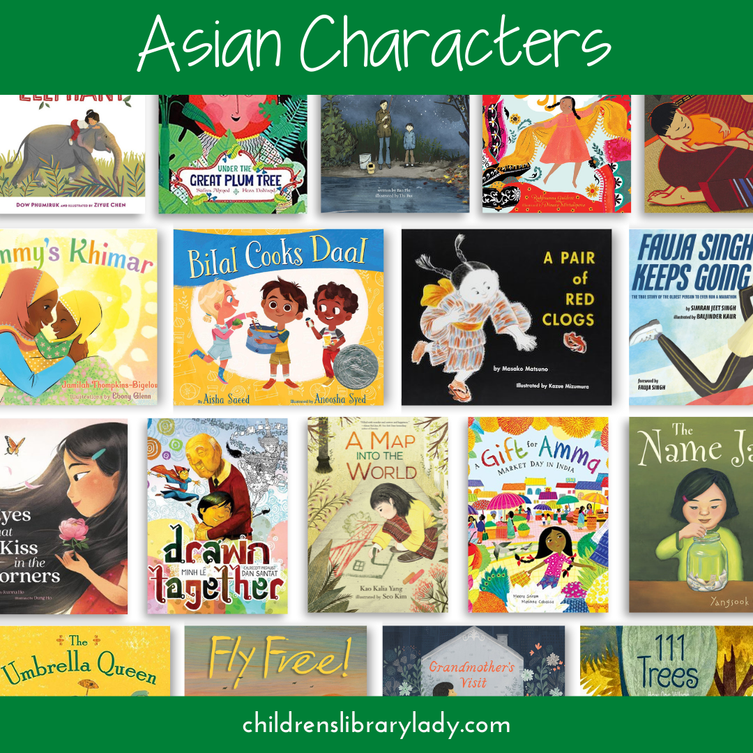 Asian Authors about Asian Characters