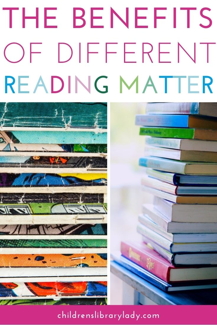 Benefits of Different Reading Materials for Struggling Readers
