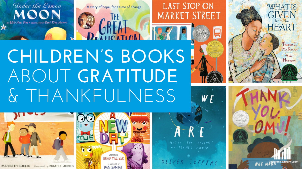 Children's Books about Gratitude and Thankfulness