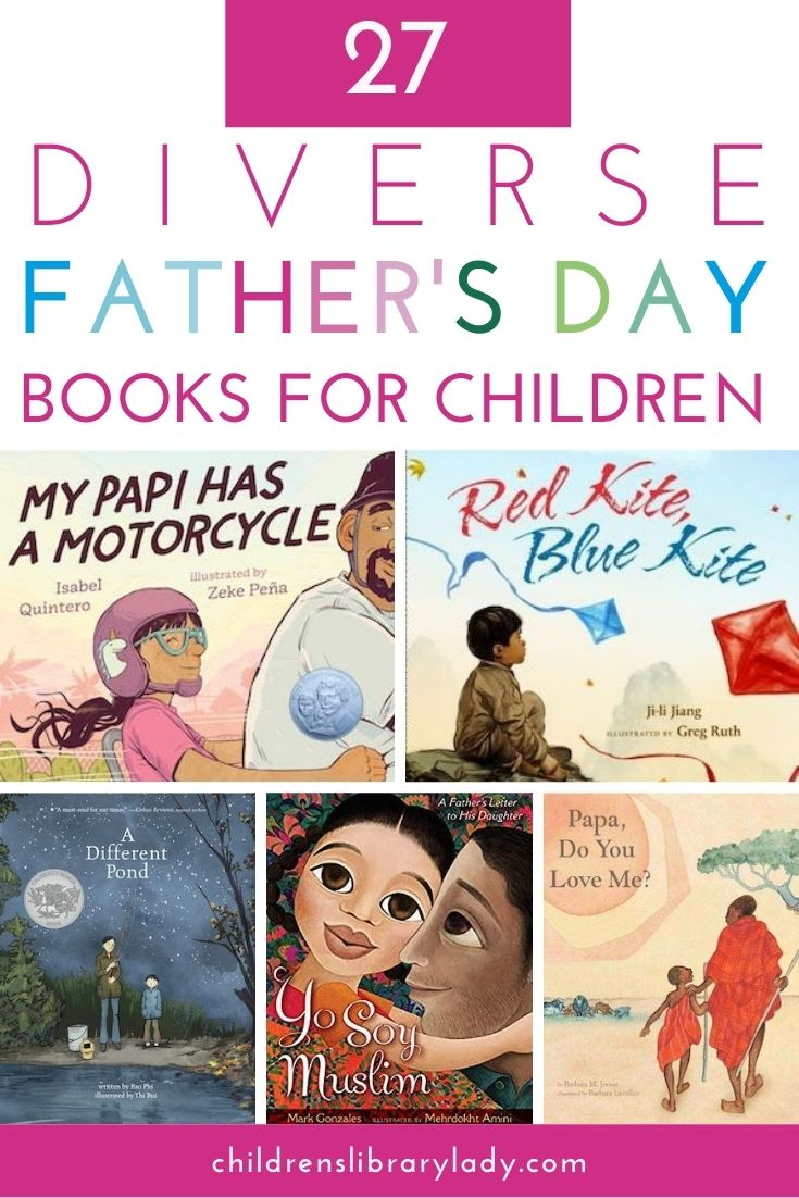 27 Diverse Children's Books for Father's Day