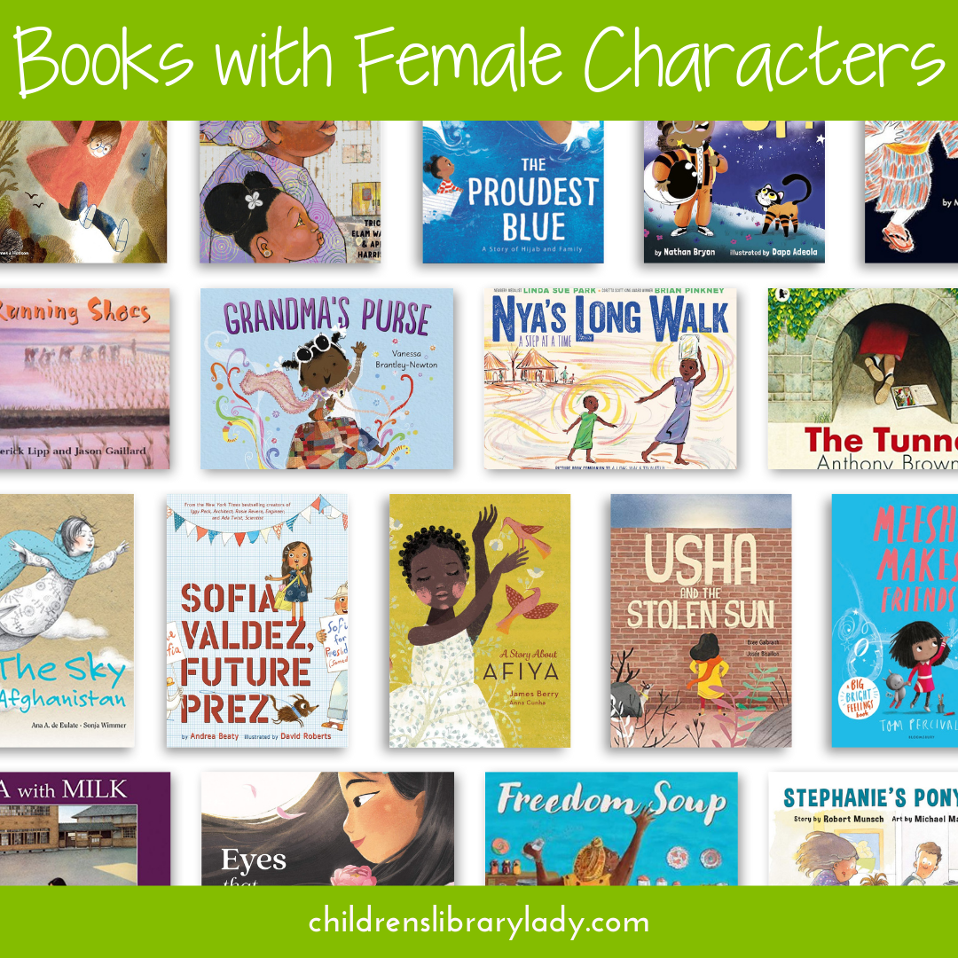 Diverse Picture Books with Strong Female Characters