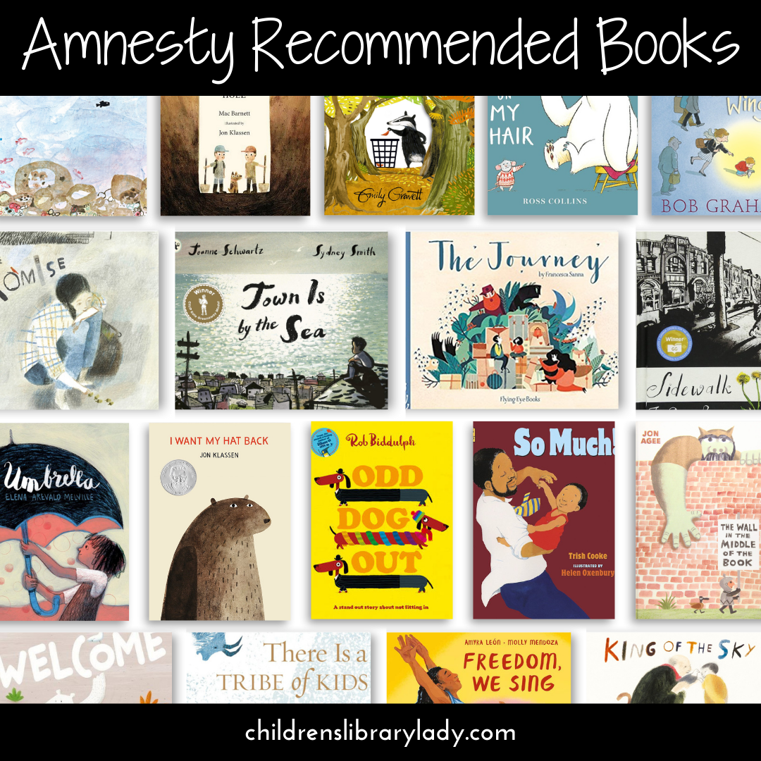 Endorsed and Recommended Amnesty Books for Children