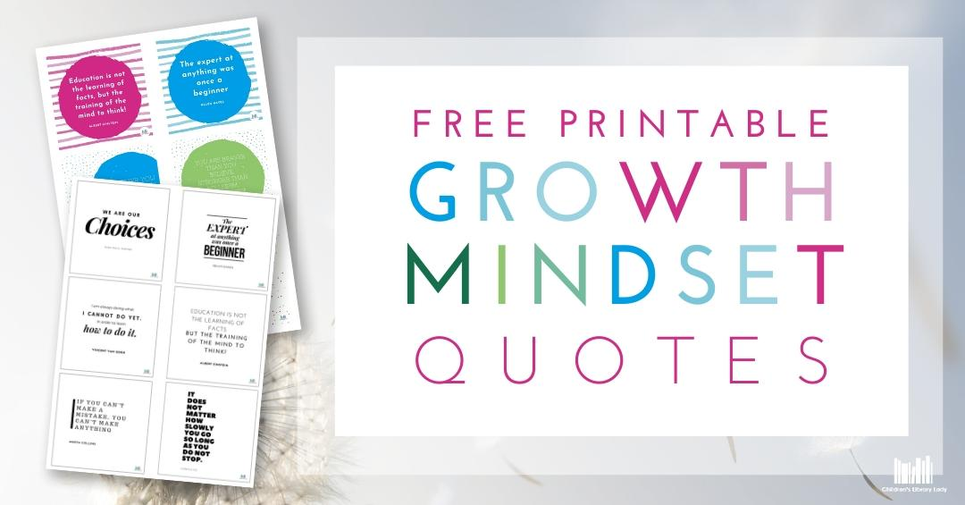 Growth Mindset Quotes Lead Magnet Opt-in Button