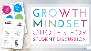 Growth Mindset Quotes for Student Discussions