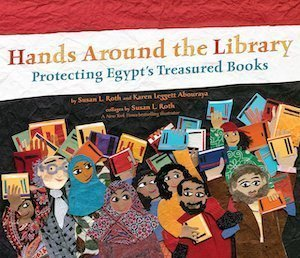 Hands Around the Library by Karen Leggett Abouraya