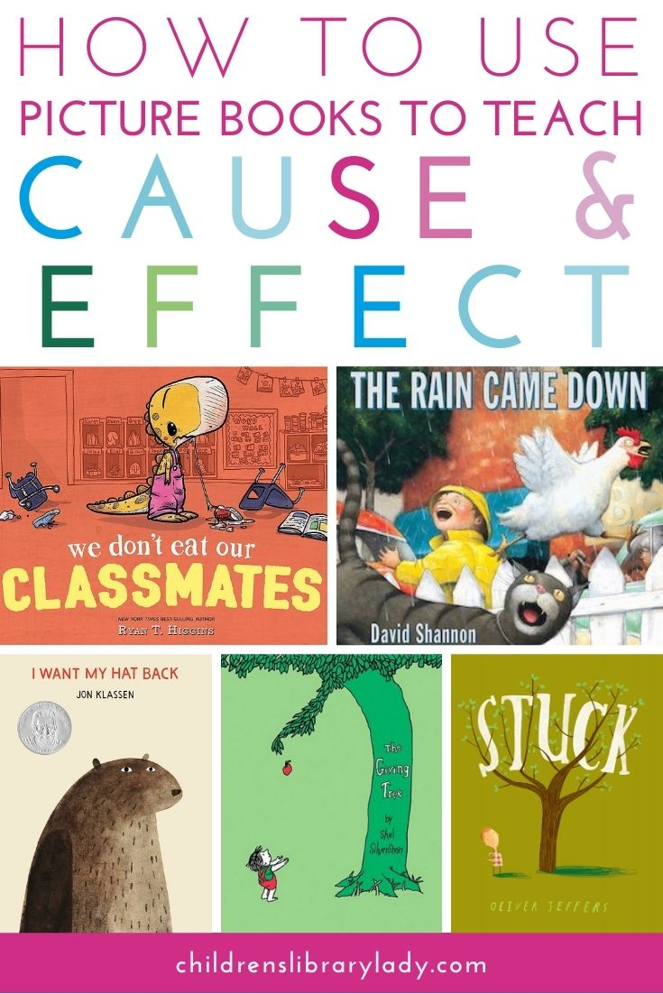 How to Use Picture Books to Teach Cause and Effect