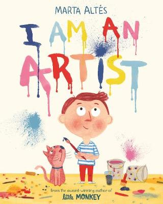 Book cover of child messy painting