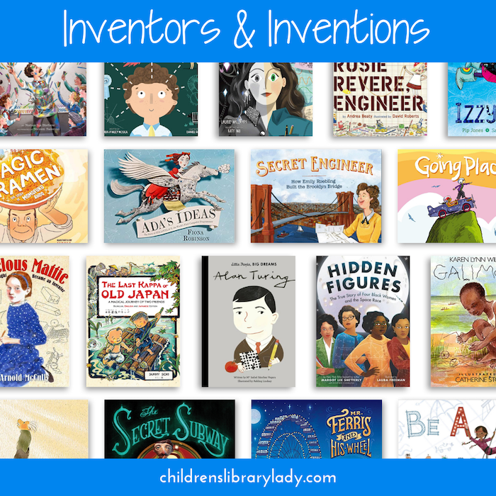 Children's Books about Inventors Perfect for Teaching STEM