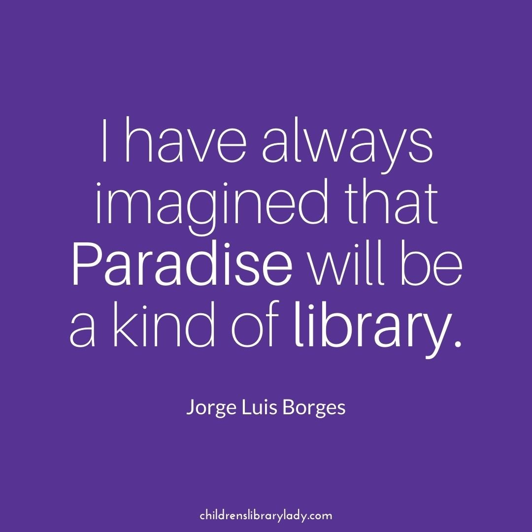 quote about libraries