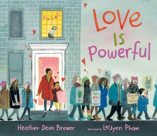 Love Is Powerful by Heather Dean Brewer