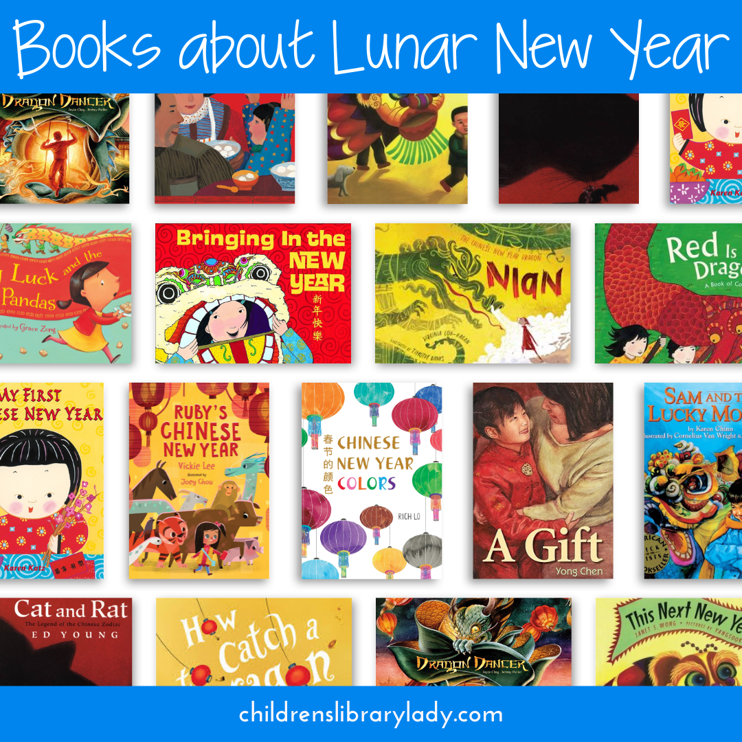Picture Books Illustrating How Lunar New Year is Celebrated