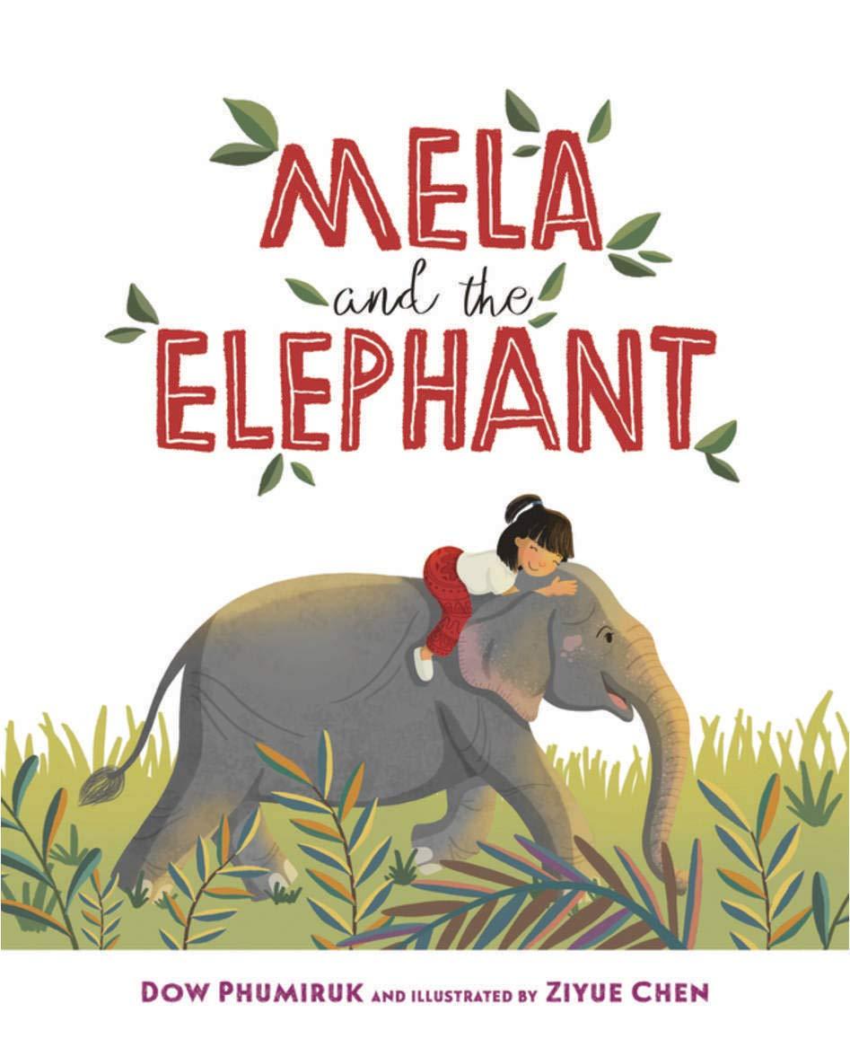 Mela and the Elephant by Dow Phumiruk