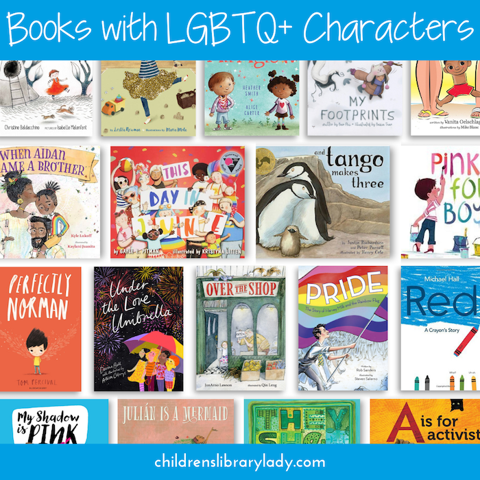 Diverse Children's Books with LGBTQ Characters