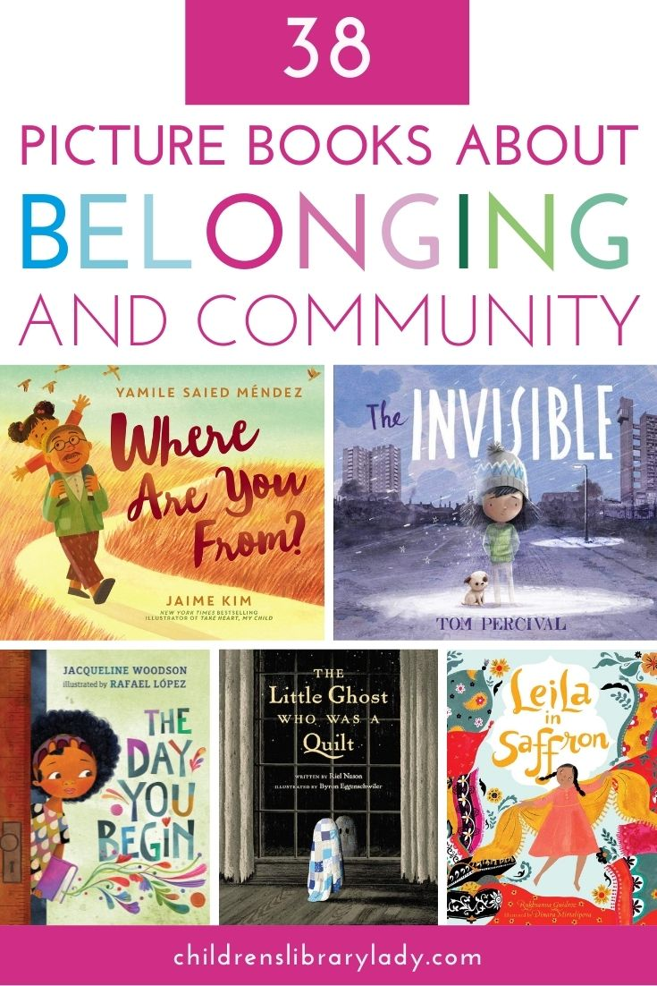 38 Picture Books about Belonging and Community