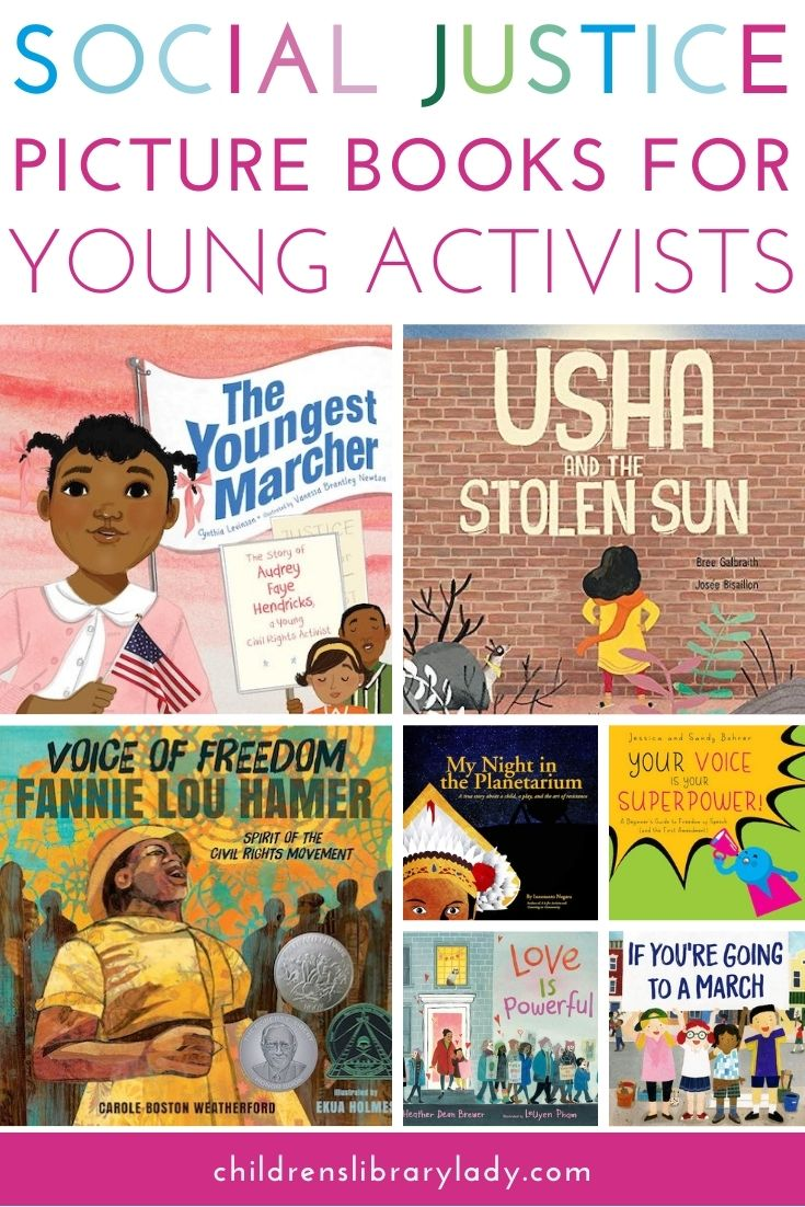 Social Justice Picture Books for Young Activists