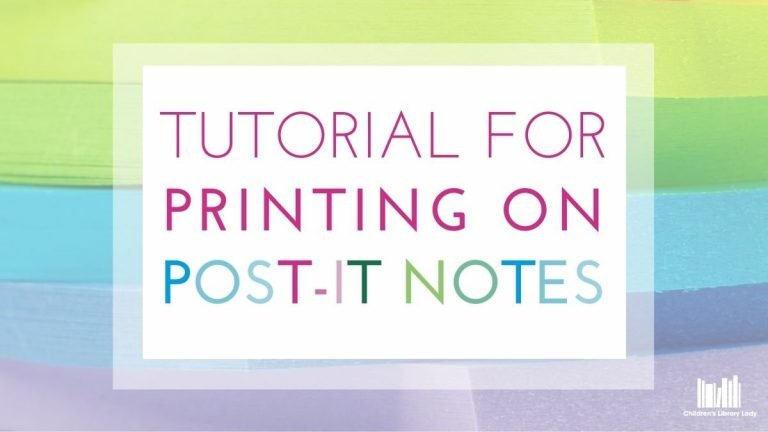 Step by Step Tutorial for Printing on Post-It Notes Featured Image