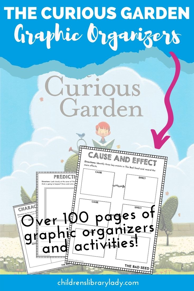 The Curious Garden by Peter Brown Grahic Organizers